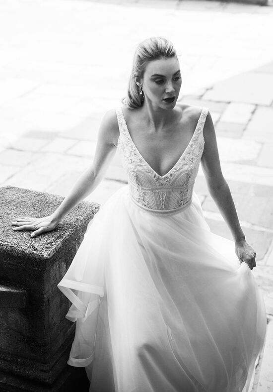 KAREN WILLIS HOLMES Sophie A-Line Wedding Dress