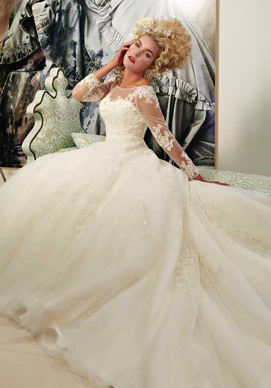1 Wedding by Mary's Bridal 6312 Ball Gown Wedding Dress