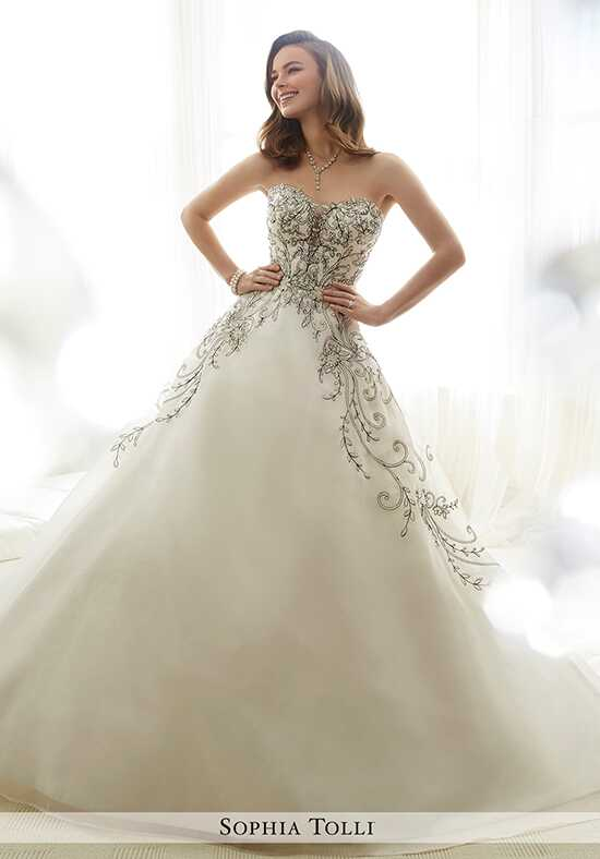 Sophia Tolli Y11709 Emeline Ball Gown Wedding Dress