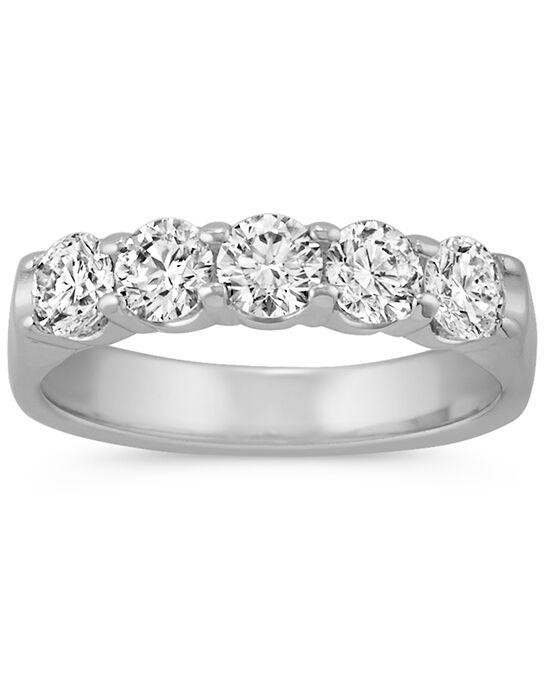 Shane Co. Round Diamond Wedding Band