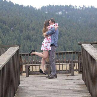Stephanie Jones And Garen Ballard Wedding Photo 1