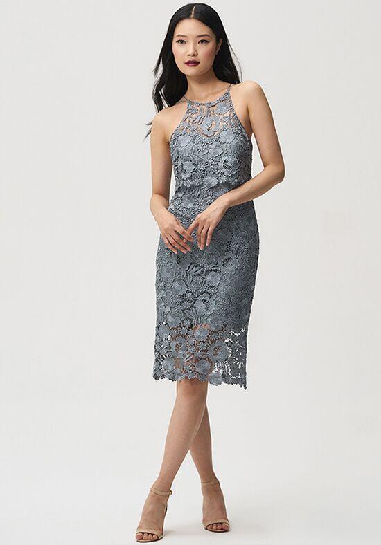 tea length halter dress