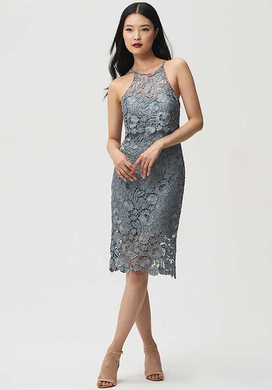 Jenny Yoo Collection (Maids) Freya Halter Bridesmaid Dress