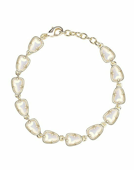 Kendra Scott Susanna Link Bracelet in White Iridescent Wedding Bracelet photo