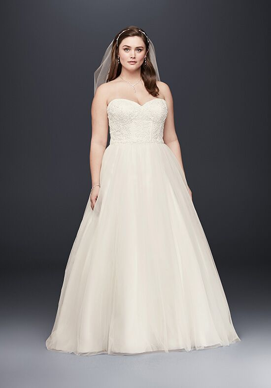 David's Bridal David's Bridal Collection Style 9WG3633 Ball Gown Wedding Dress