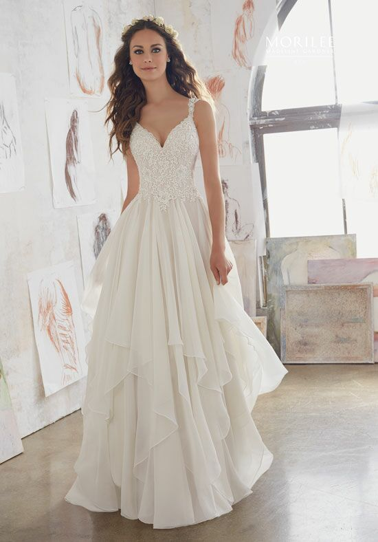 Morilee by Madeline Gardner/Blu 5512 A-Line Wedding Dress