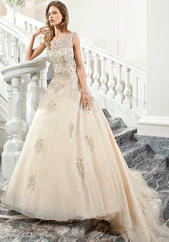 Demetrios C205 A-Line Wedding Dress