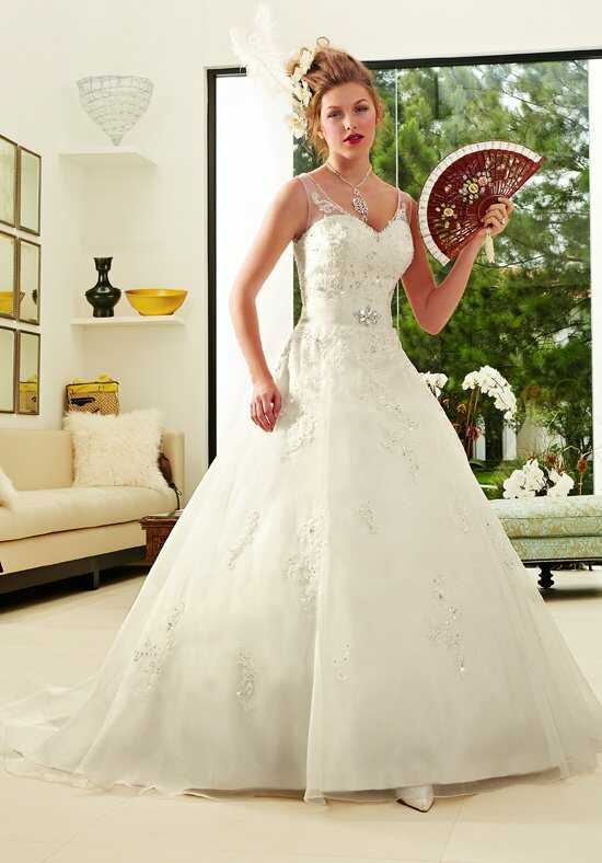 1 Wedding by Mary's Bridal 6307 Ball Gown Wedding Dress