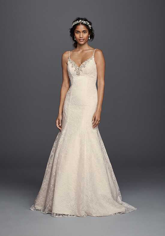 David's Bridal Galina Signature Style V3801 Mermaid Wedding Dress