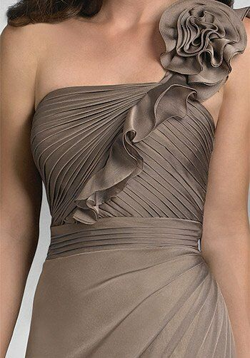Bari Jay Bridesmaids 414 One-Shoulder Bridesmaid Dress