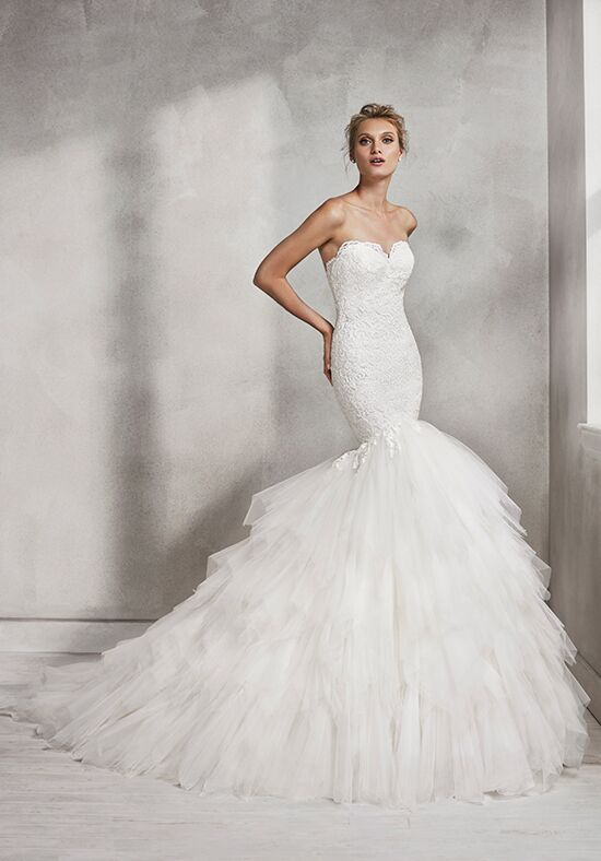 Luna Novias HEDERA Mermaid Wedding Dress