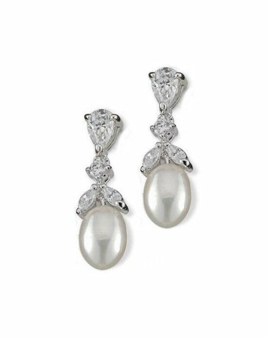 Anna Bellagio FELINA CUBIC ZIRCONIA EARRINGS Wedding Earring photo