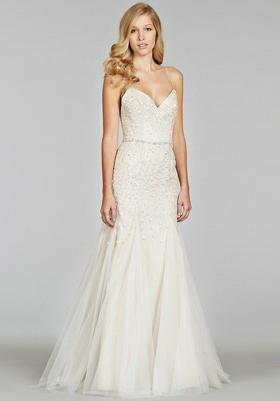 Jim Hjelm 8400 Mermaid Wedding Dress