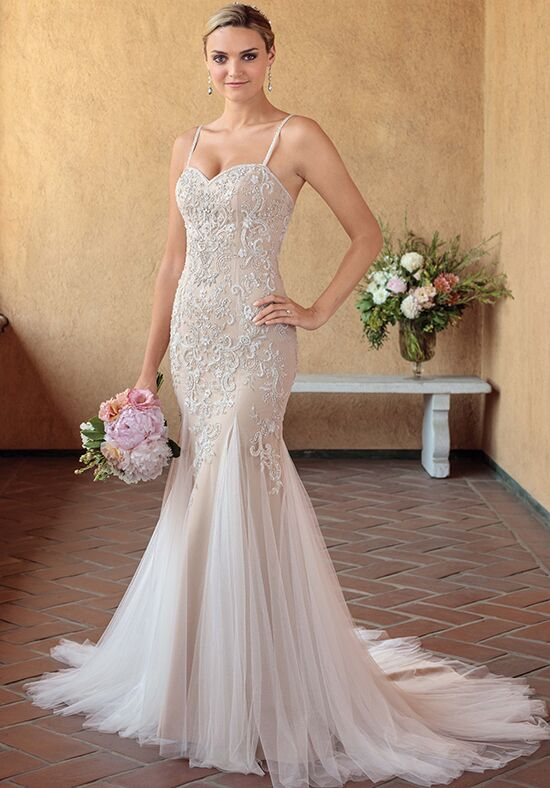 Casablanca Bridal 2321 Pixie Mermaid Wedding Dress