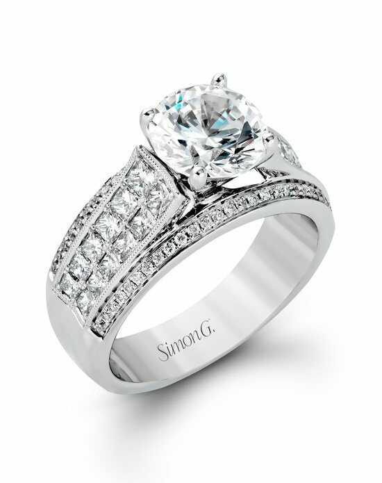 Simon G. Jewelry MR2425 Engagement Ring photo