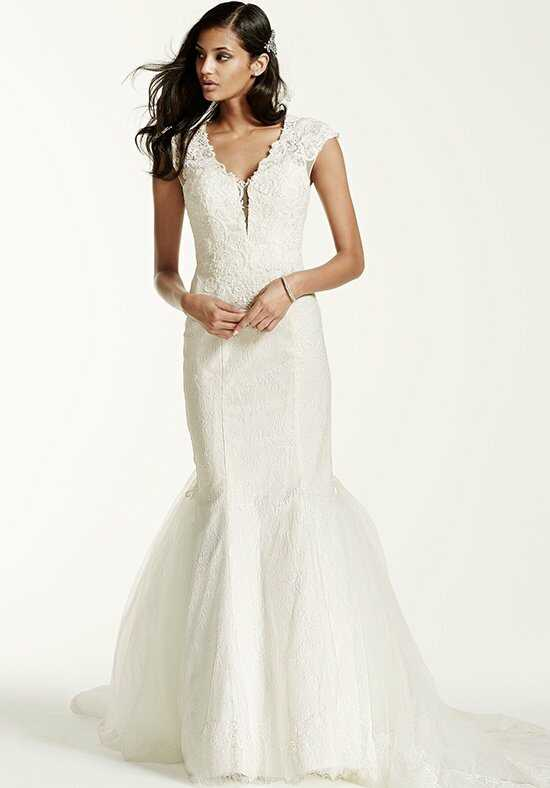 David's Bridal Galina Signature Style SWG681 Wedding Dress photo