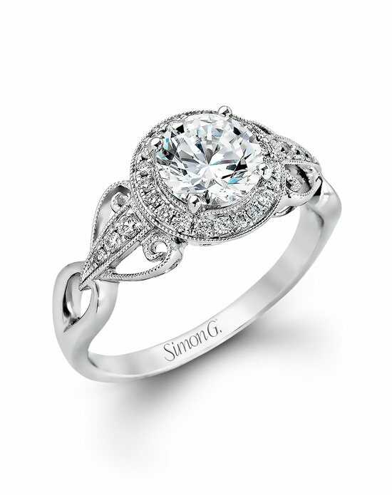 Simon G. Jewelry TR519 Engagement Ring photo