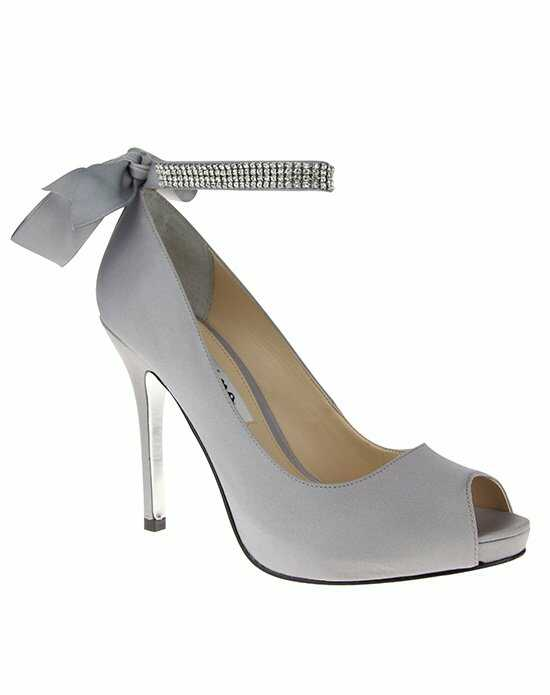 Nina Bridal Wedding Accessories KAREN_ROYAL SILVER_MAIN Ivory Shoe