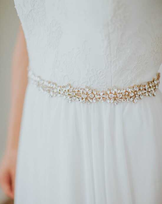Davie & Chiyo | Sashes & Belts Pollux Sash Gold, Ivory, Silver, White Sashes + Belt