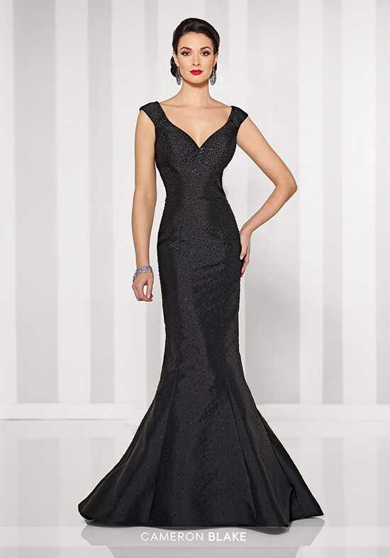 Cameron Blake 216676 Black Mother Of The Bride Dress