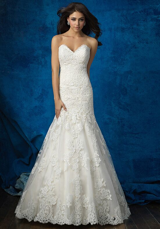 Allure Bridals 9374 A-Line Wedding Dress