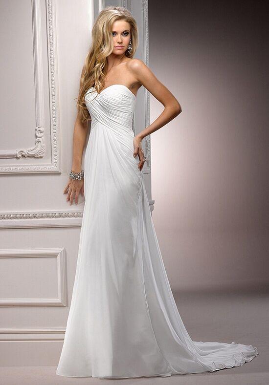 Maggie Sottero Erin A Line Sheath Wedding Dress