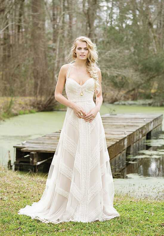 Lillian West 6468 A-Line Wedding Dress