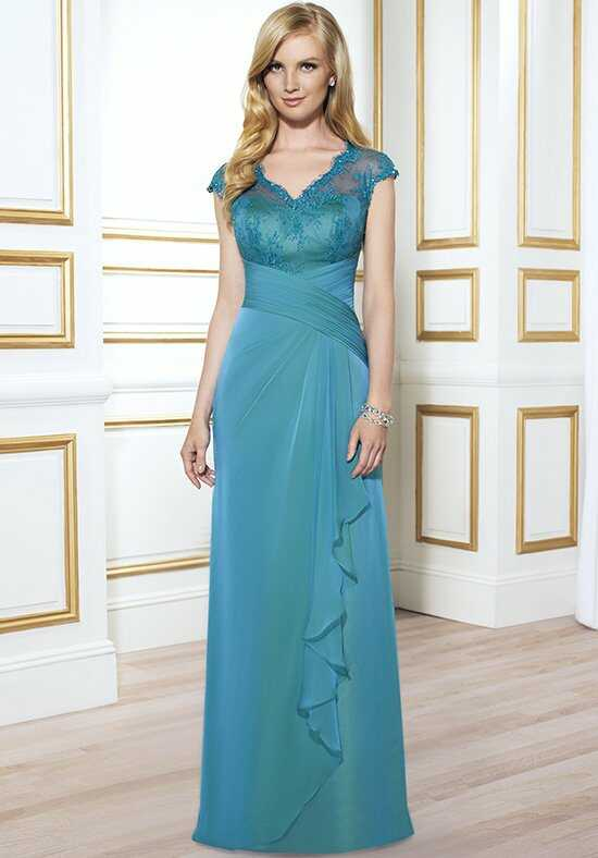 Val Stefani Celebrations MB7401 Blue Mother Of The Bride Dress