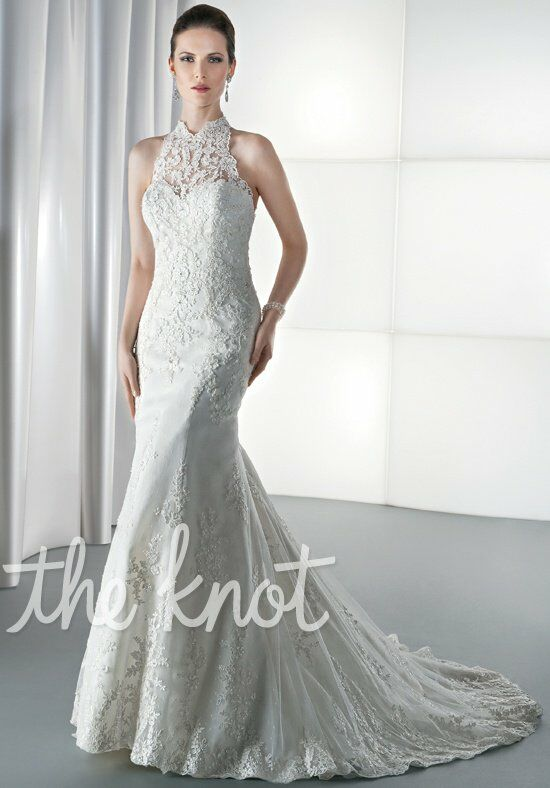 Demetrios 1450 Mermaid Wedding Dress