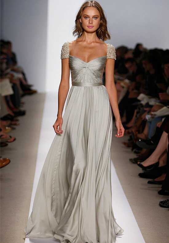 Reem Acra Olivia A-Line Wedding Dress