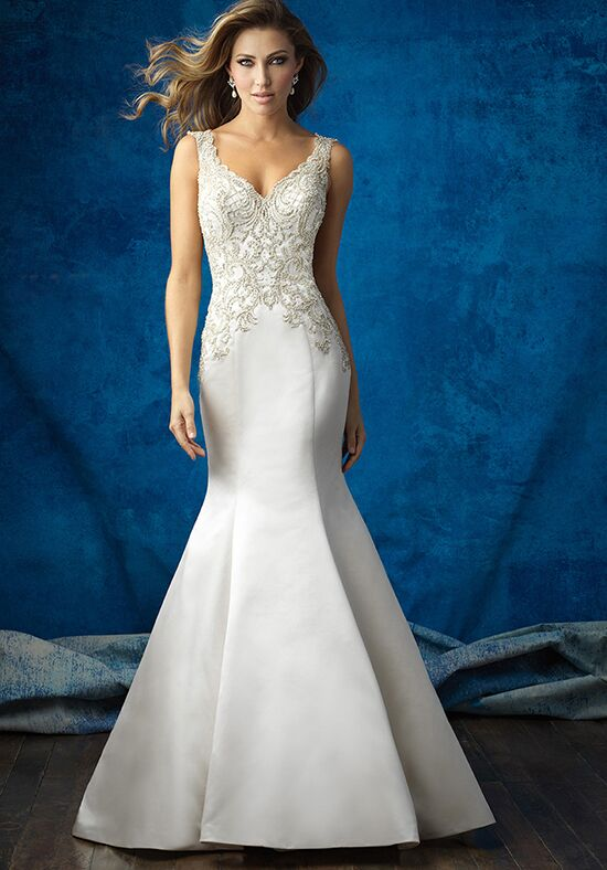 Allure Bridals 9362 A-Line Wedding Dress