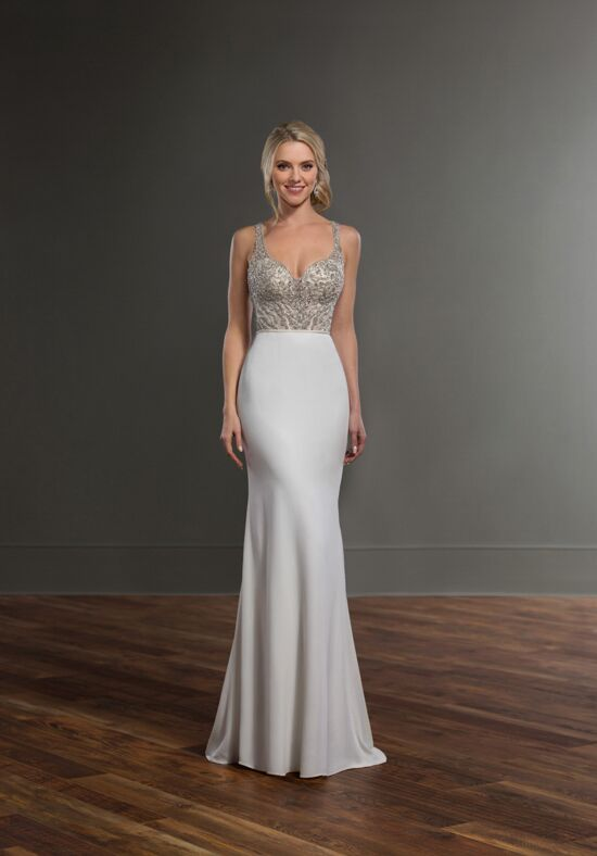 Martina Liana Chelle + Sanja Sheath Wedding Dress