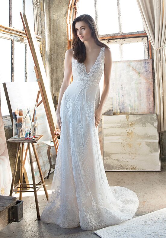 Tara Keely by Lazaro 2810 A-Line Wedding Dress