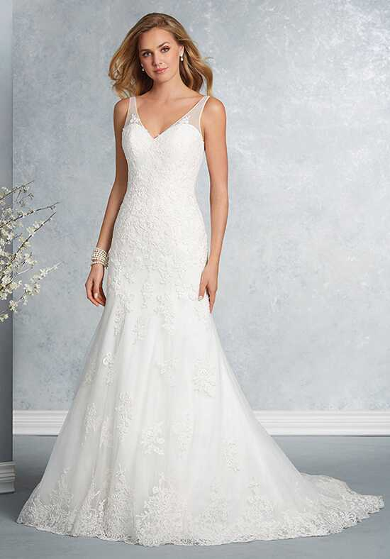 Alfred Angelo Signature Bridal Collection 2605 Sheath Wedding Dress