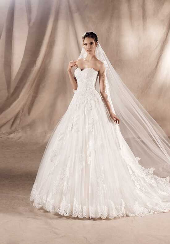WHITE ONE YADIR Ball Gown Wedding Dress