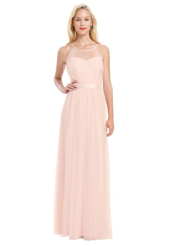 Bill Levkoff 1169 Illusion Bridesmaid Dress