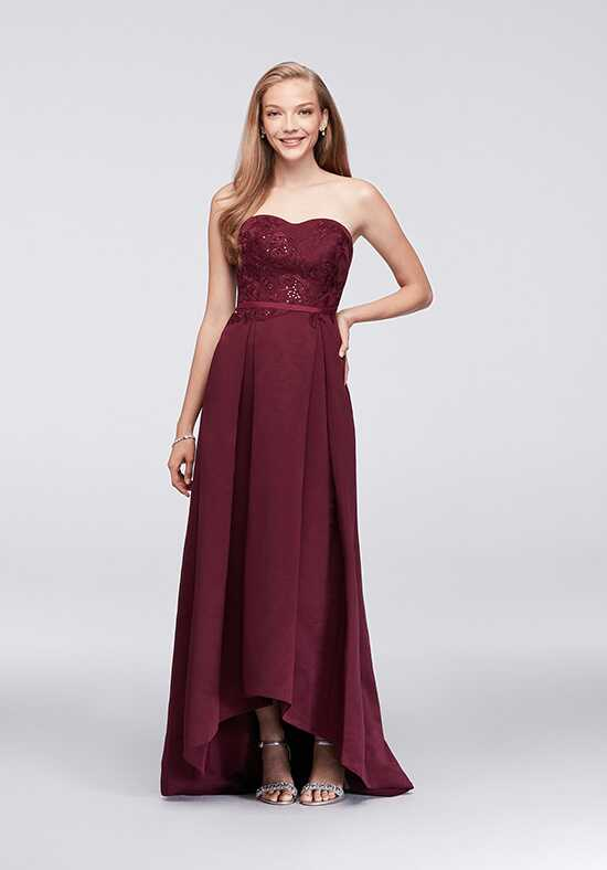 Oleg Cassini Exclusively at David's Bridal Bridesmaid Dresses Oleg Cassini Style OC290019 Sweetheart Bridesmaid Dress