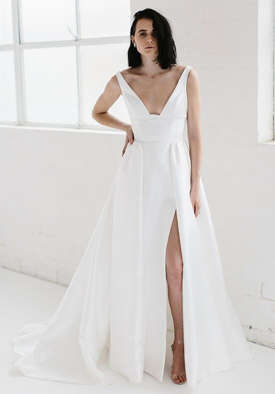 KAREN WILLIS HOLMES Taryn & Camille A-Line Wedding Dress