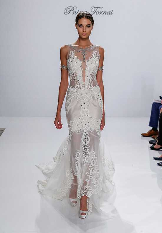 pnina tornai for kleinfeld 4526 mermaid wedding dress