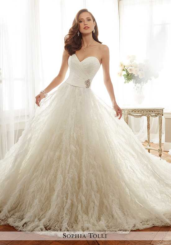 Sophia Tolli Y11726 Cheri A-Line Wedding Dress