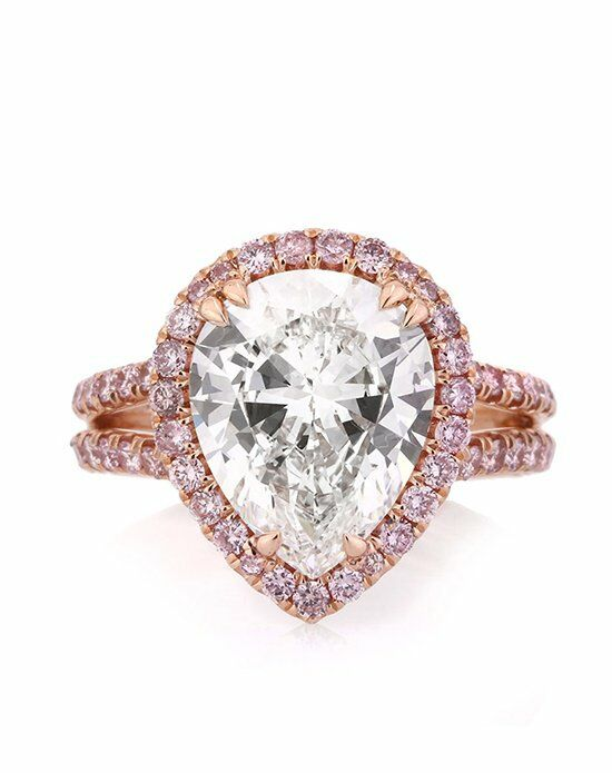Mark Broumand Unique Radiant Cut Engagement Ring
