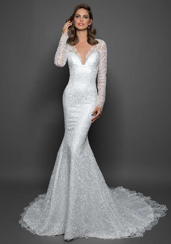 LOVE by Pnina Tornai for Kleinfeld 14598 Sheath Wedding Dress