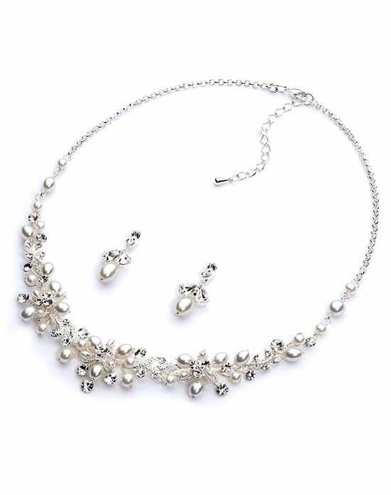 USABride Delicate Pearl Jewelry Set JS-1637 Wedding Necklace photo