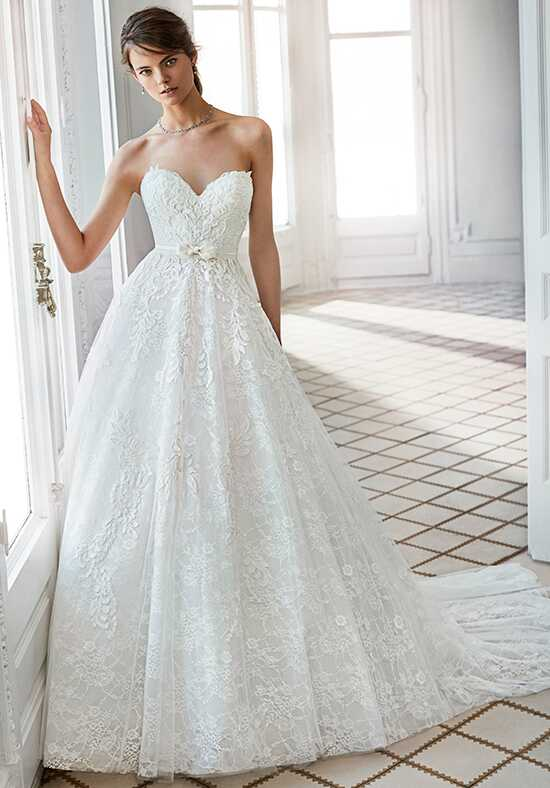 Luna Novias HELDA A-Line Wedding Dress