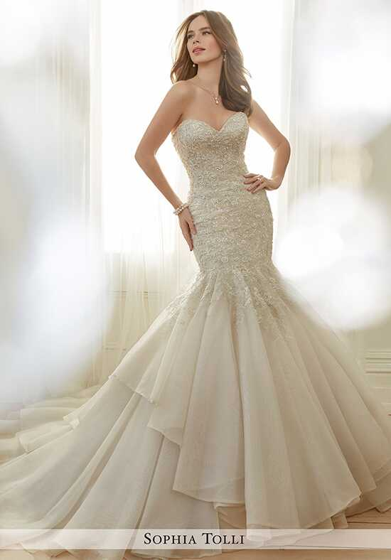 Sophia Tolli Y11729 Arielle Mermaid Wedding Dress