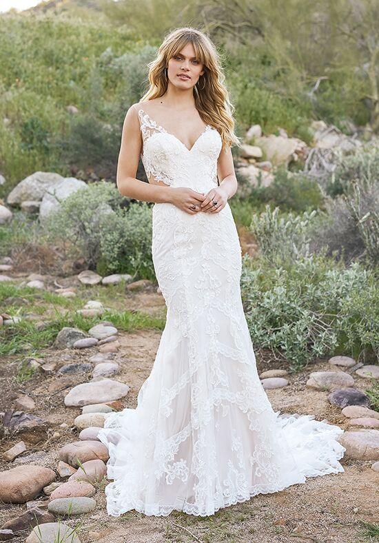 Lillian West 6521 Mermaid Wedding Dress