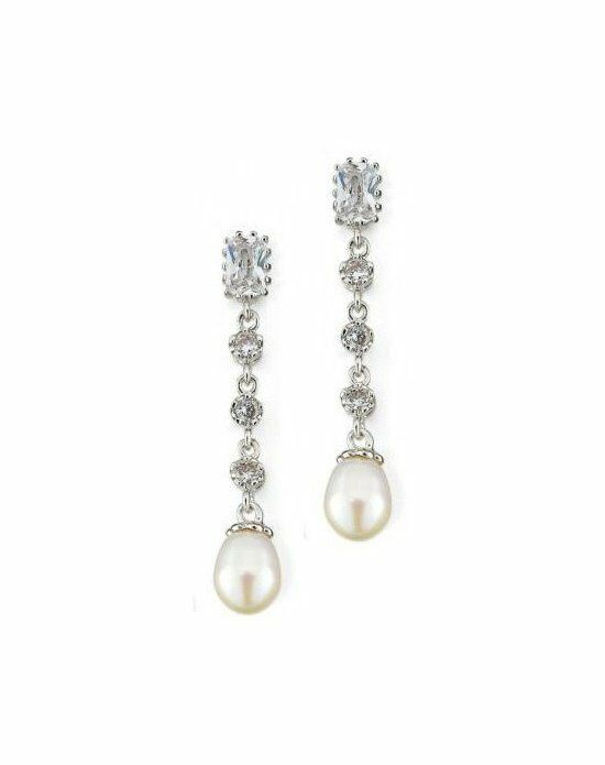 Anna Bellagio LORENA CUBIC ZIRCONIA EARRINGS Wedding Earring photo