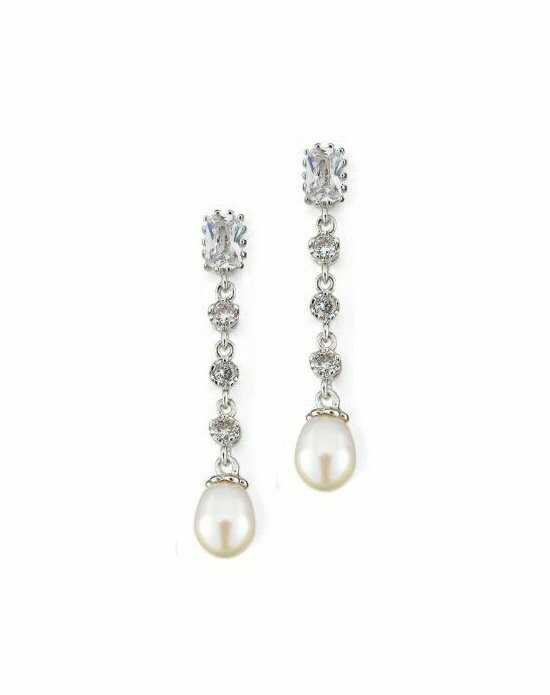 Anna Bellagio LORENA CUBIC ZIRCONIA EARRINGS Wedding Earrings photo