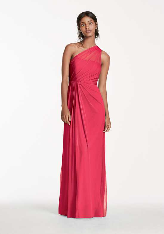 David's Bridal Collection David's Bridal Style F15928 One Shoulder Bridesmaid Dress
