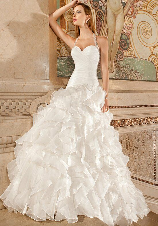 Demetrios 3219 A-Line Wedding Dress